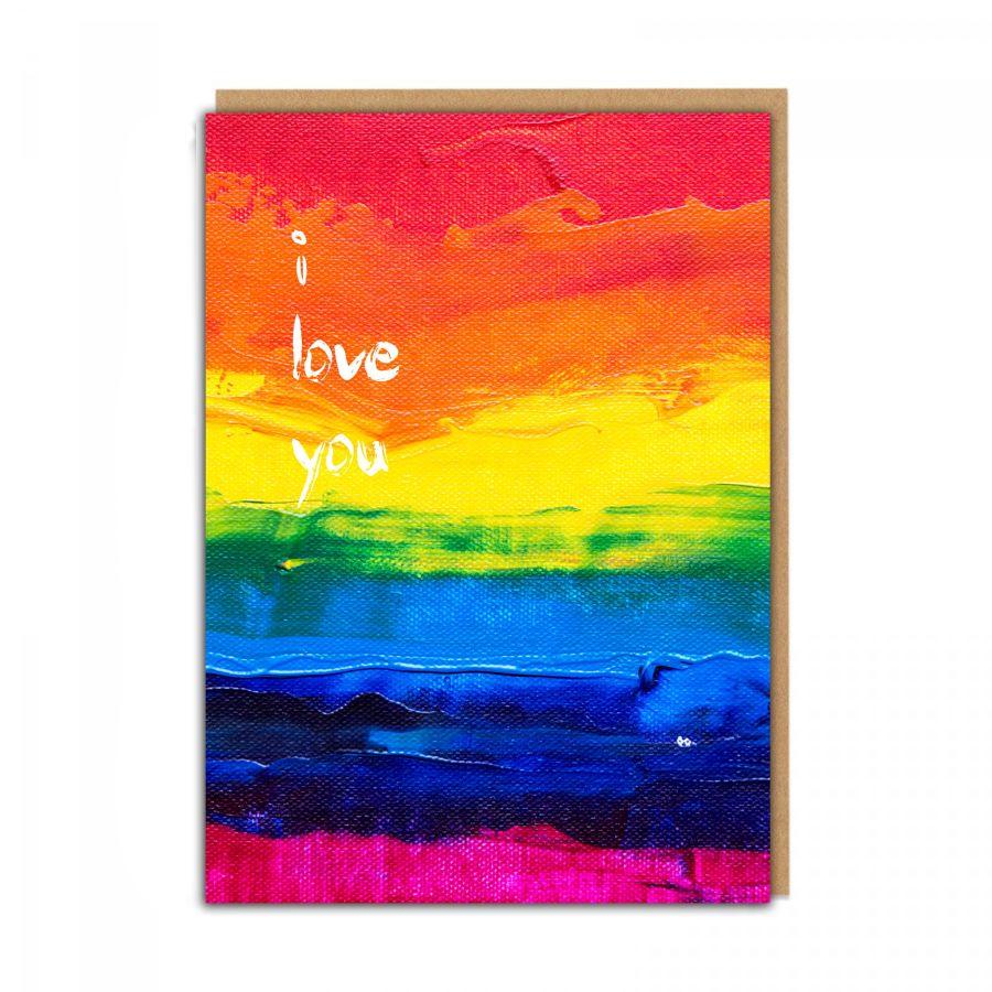 i love you (rainbow)
