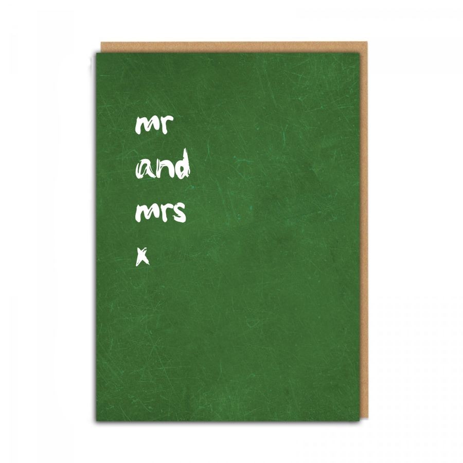 mr and mrs (green)