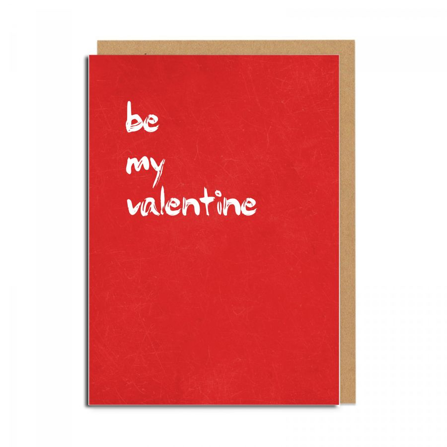be my valentine (red)