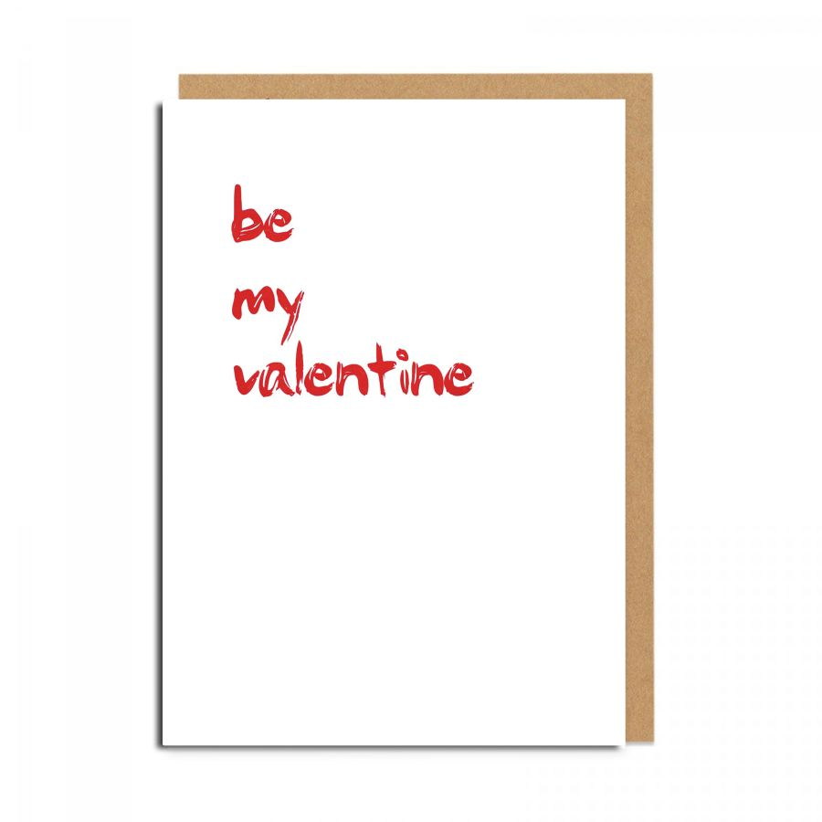 be my valentine (white)