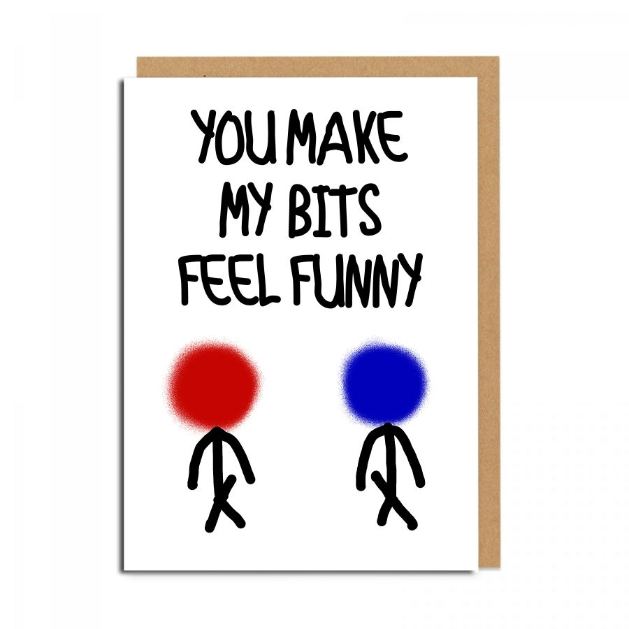 bits feel funny gay