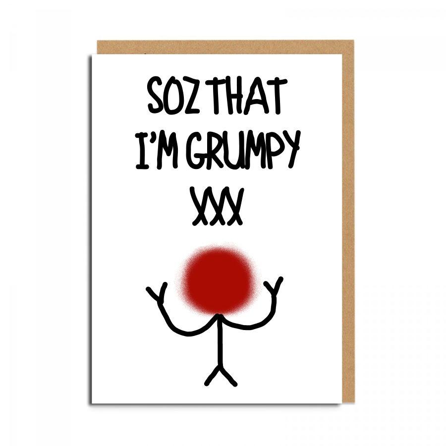 soz grumpy