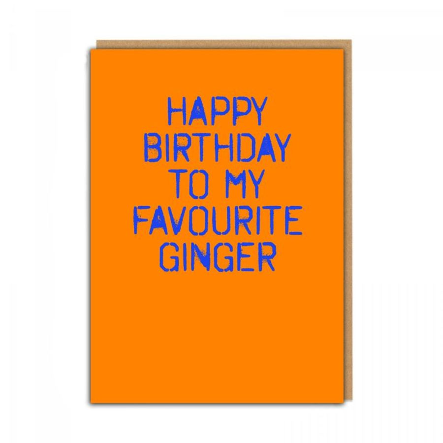 favourite ginger