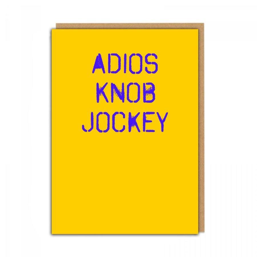 adios knob jockey