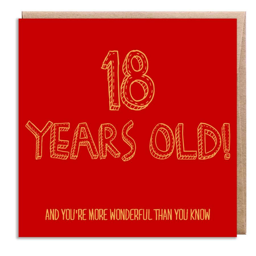 18 wonderful