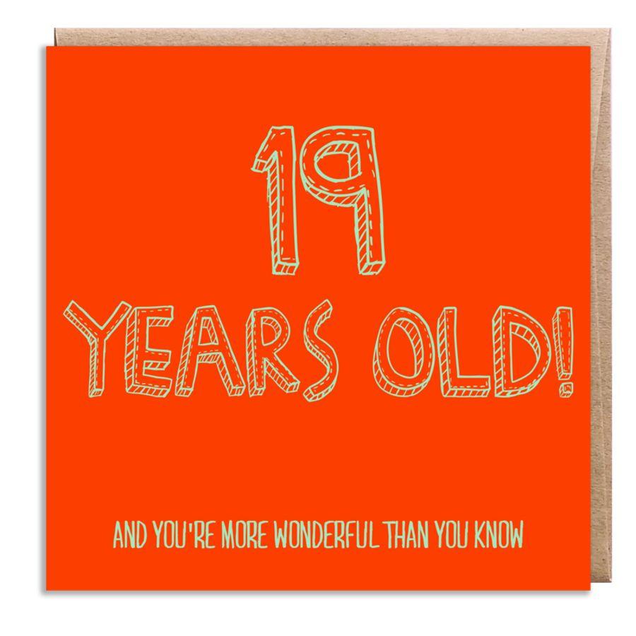 19 wonderful