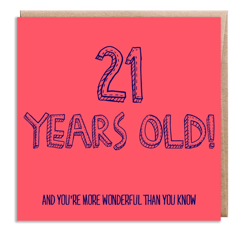 21 wonderful
