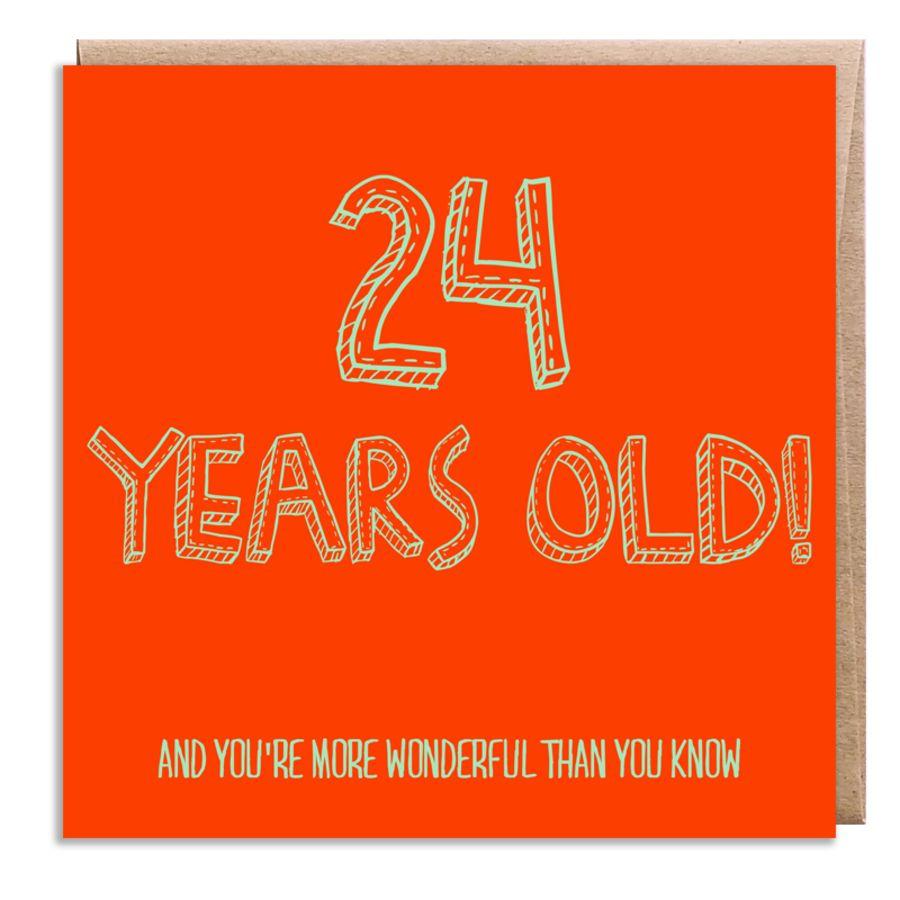 24 wonderful