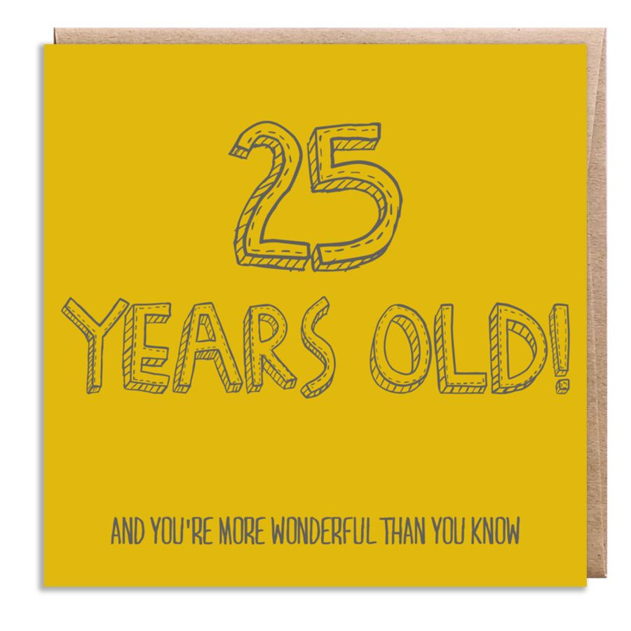 25 wonderful