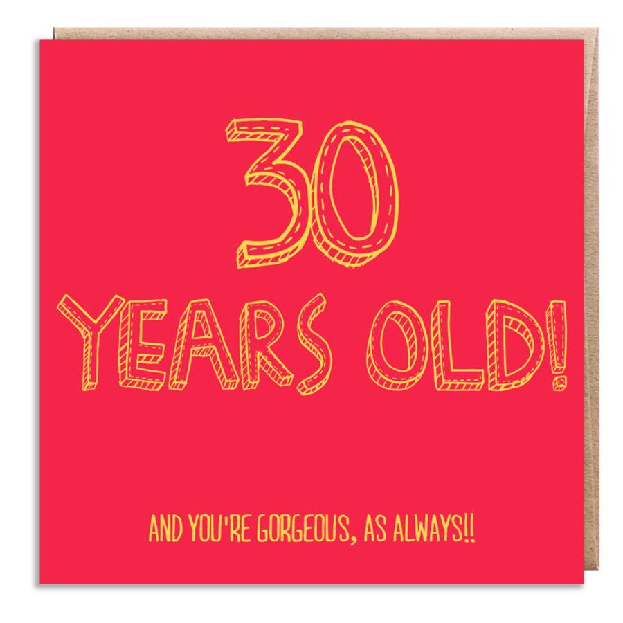 30 wonderful