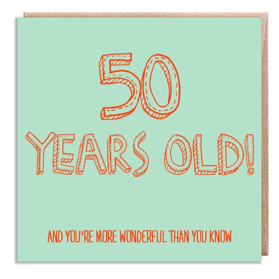 50 wonderful