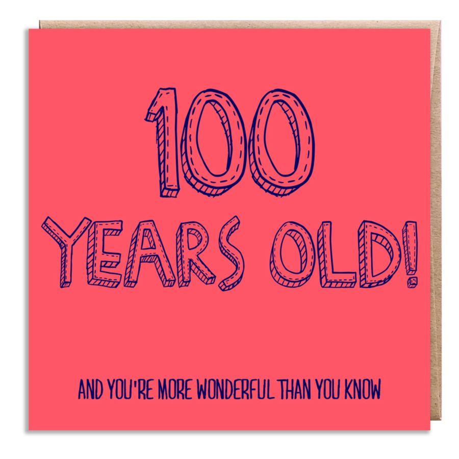 100 wonderful