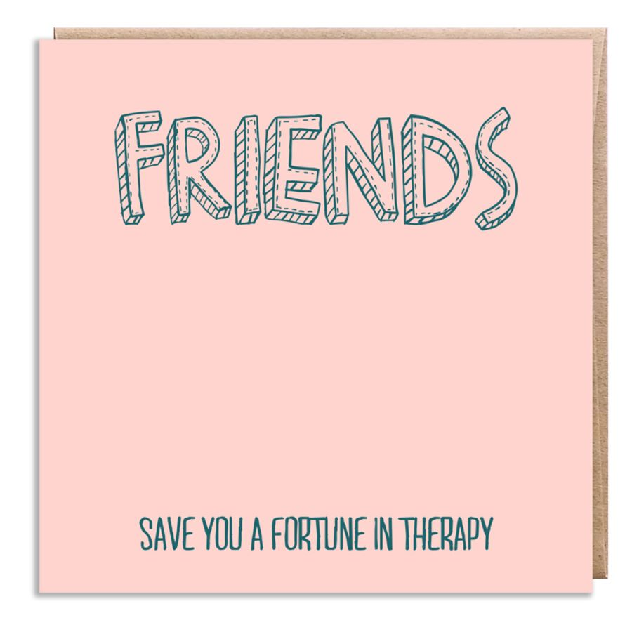 friends therapy pink