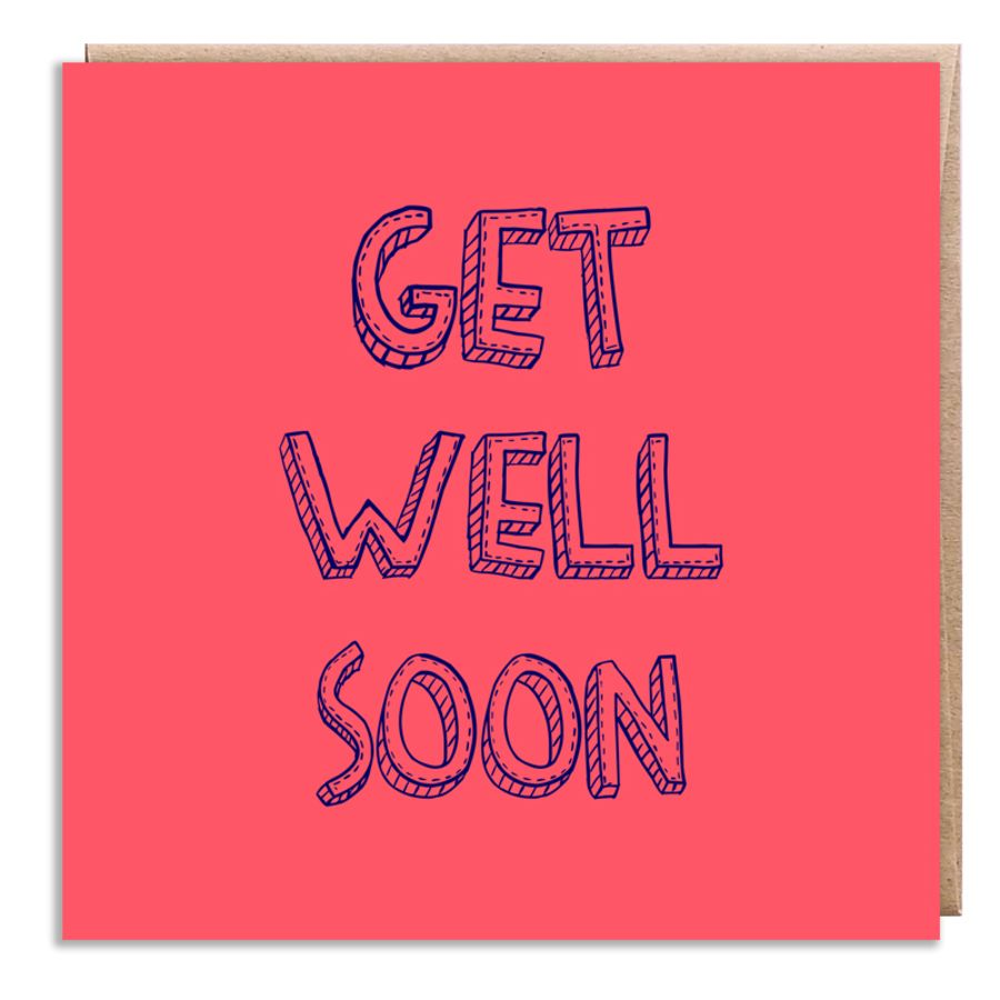get well soon pink