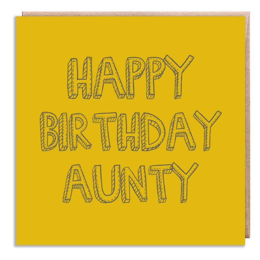 aunty yellow