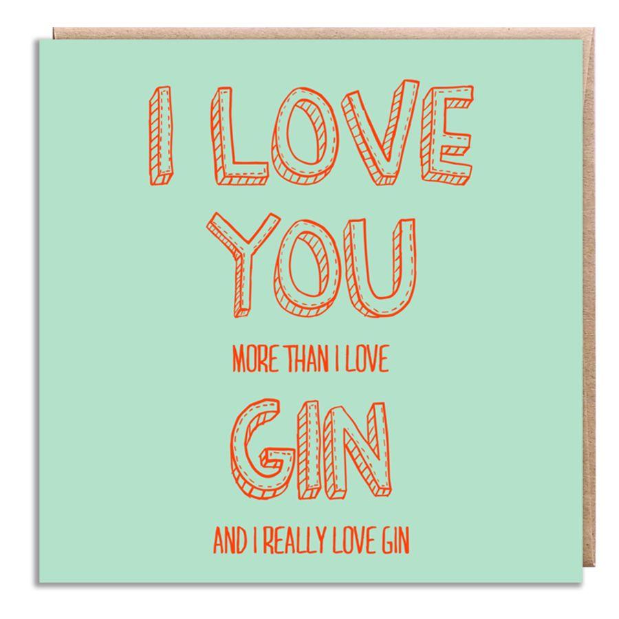 love gin blue