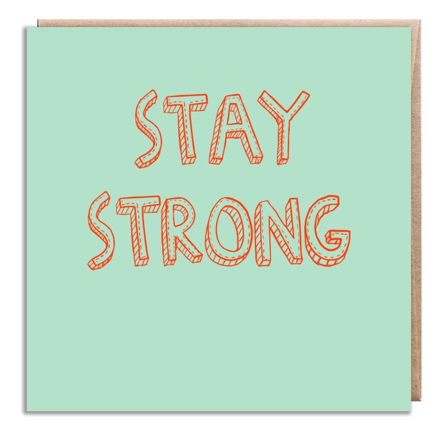stay strong blue