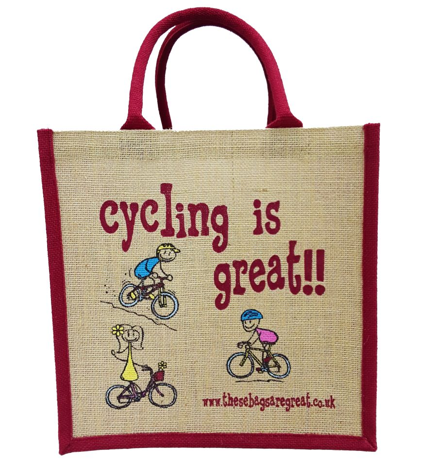 Cycling is Great Bag