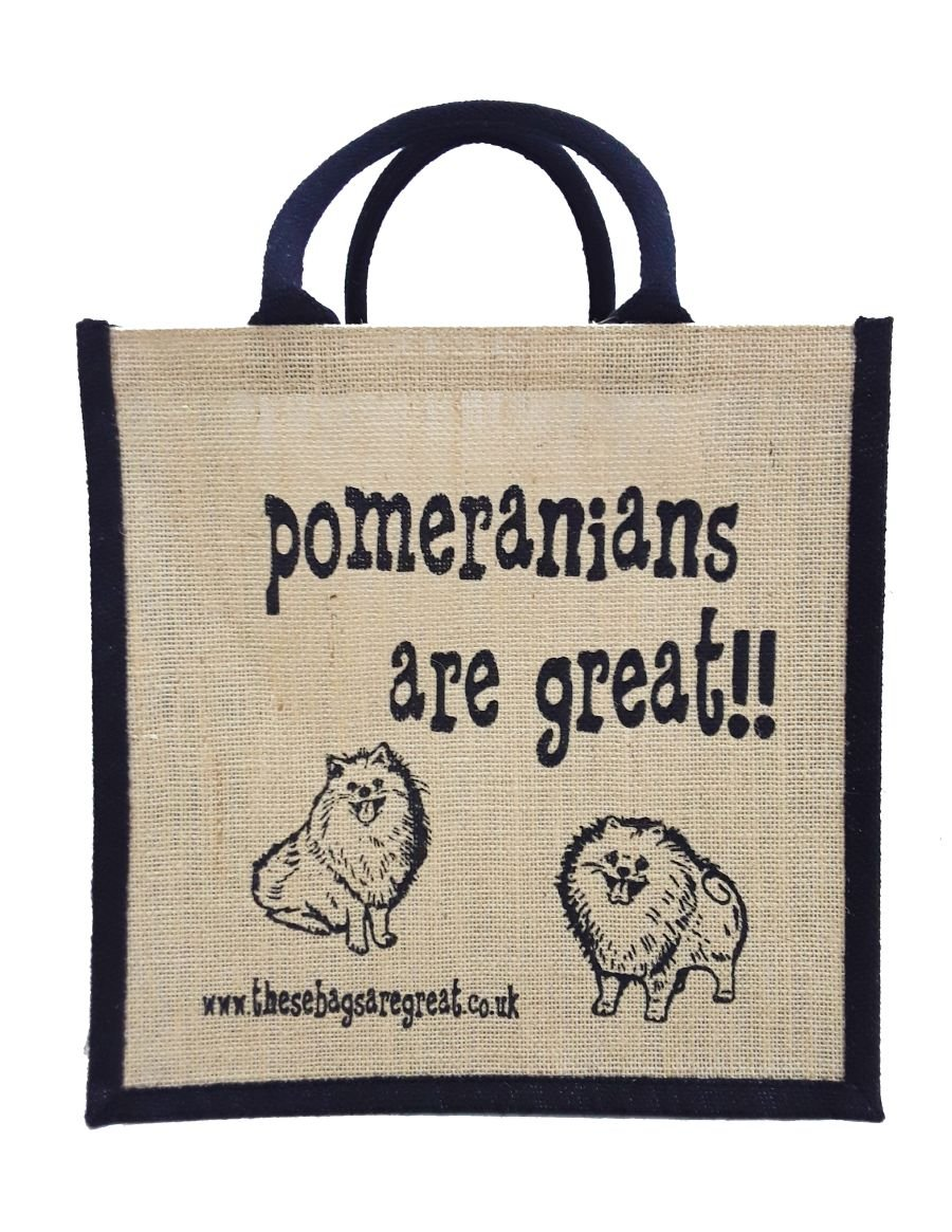 Pomeranians are Great Bag