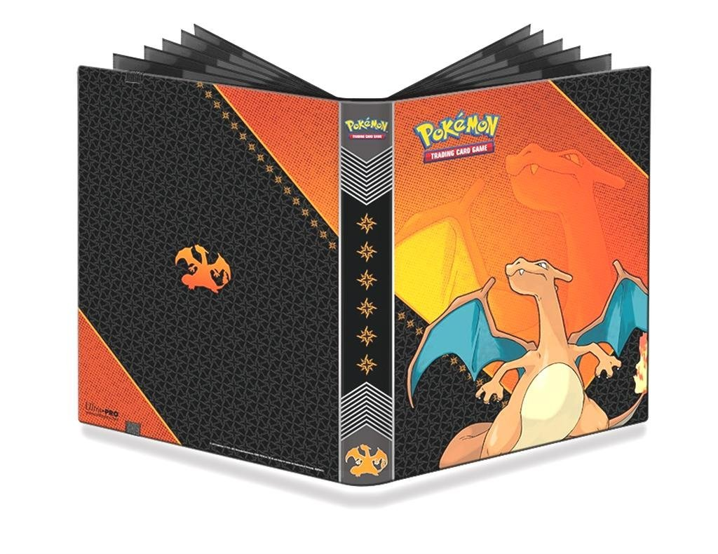Charizard Ultra Pro 9-Pocket 20 Page A4 Portfolio Binder Album!