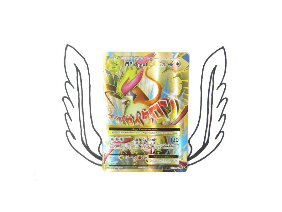 XY Evolutions Mega Pidgeot EX Full Art - 105/108 - Single Card