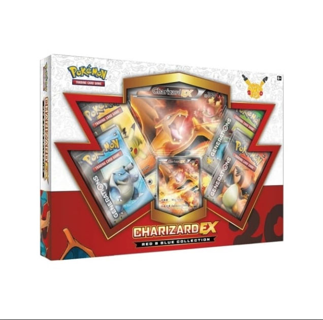 Red and Blue Collection Box: Charizard EX