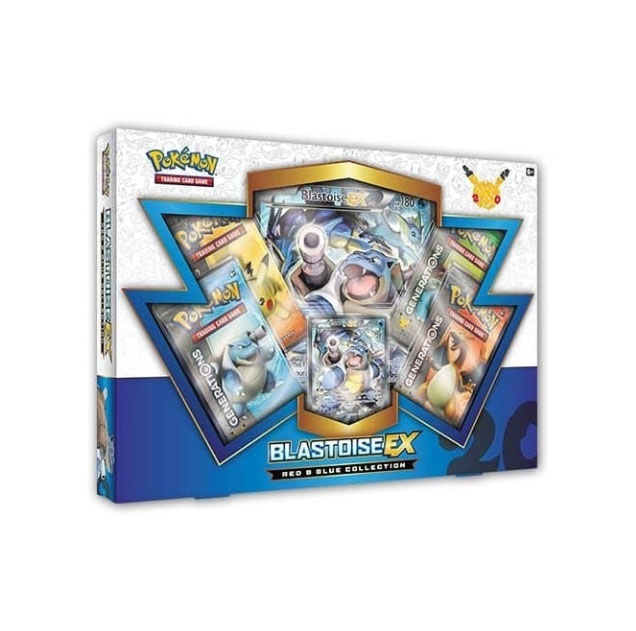 Red and Blue Collection Box: Blastoise EX
