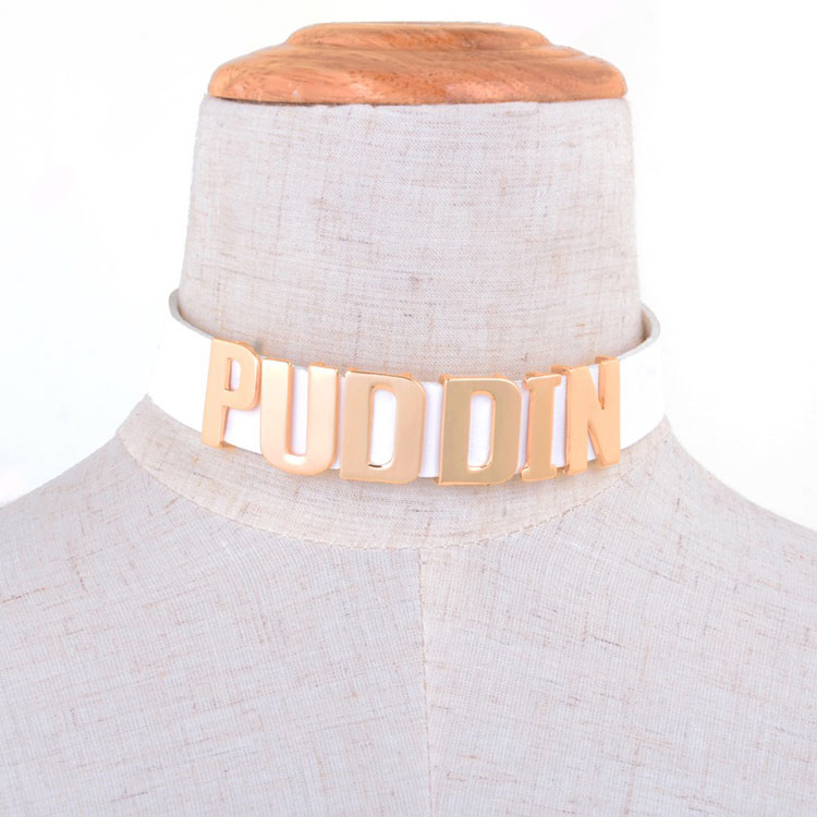 Puddin Button Choker