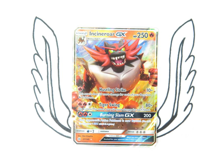 Sun & Moon Base Set Incineroar GX - 27/149 - Single Card