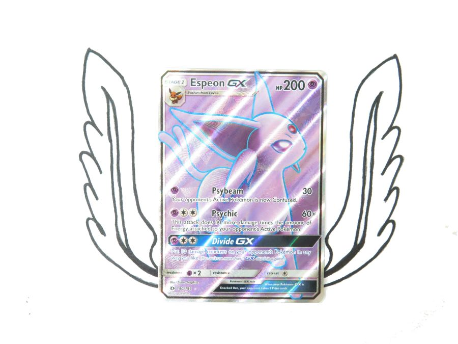 Sun & Moon Base Set Espeon GX - 140/149 - Single Card