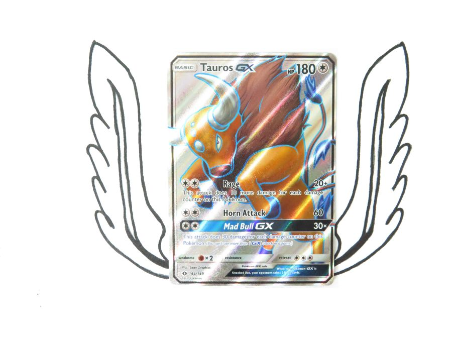 Sun & Moon Base Set Tauros GX - 144/149 - Single Card