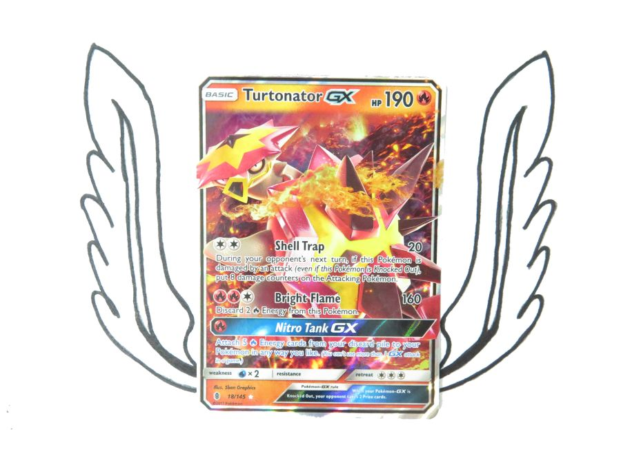 Sun & Moon Guardians Rising Turtonator GX - 018/145 - Single Card