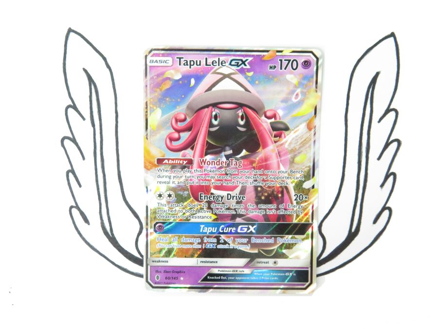 Sun & Moon Guardians Rising Tapu Lele GX - 060/145 - Single Card