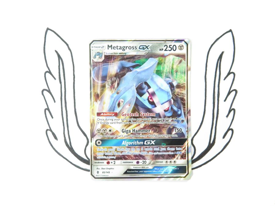 Sun & Moon Guardians Rising Metagross GX - 085/145 - Single Card