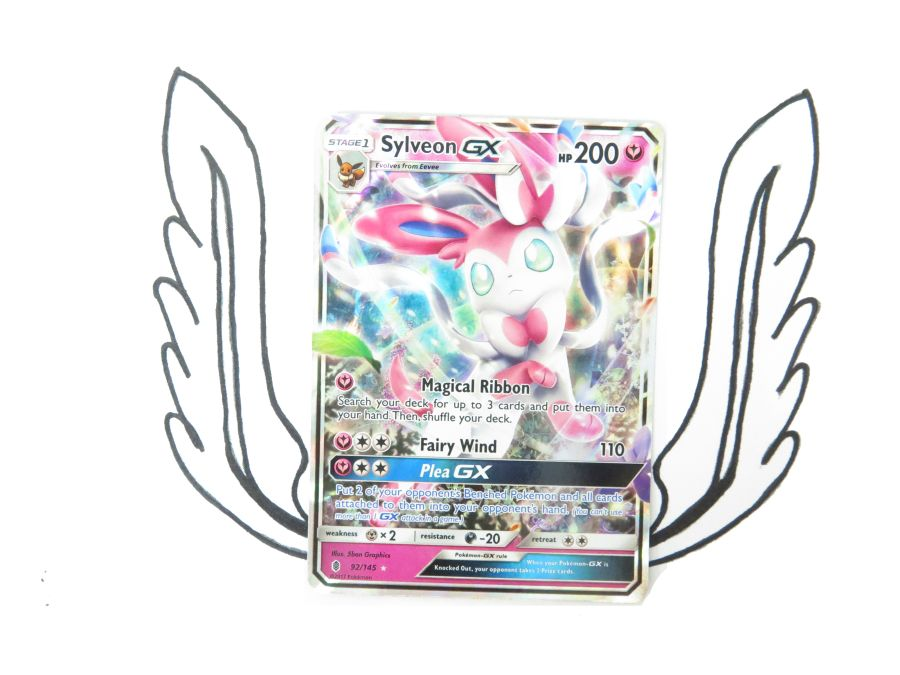 Sun & Moon Guardians Rising Sylveon GX - 092/145 - Single Card