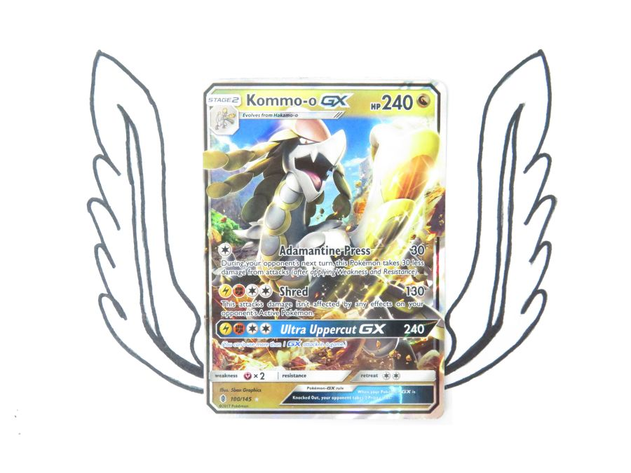 Sun & Moon Guardians Rising Kommo-o GX - 100/145 - Single Card
