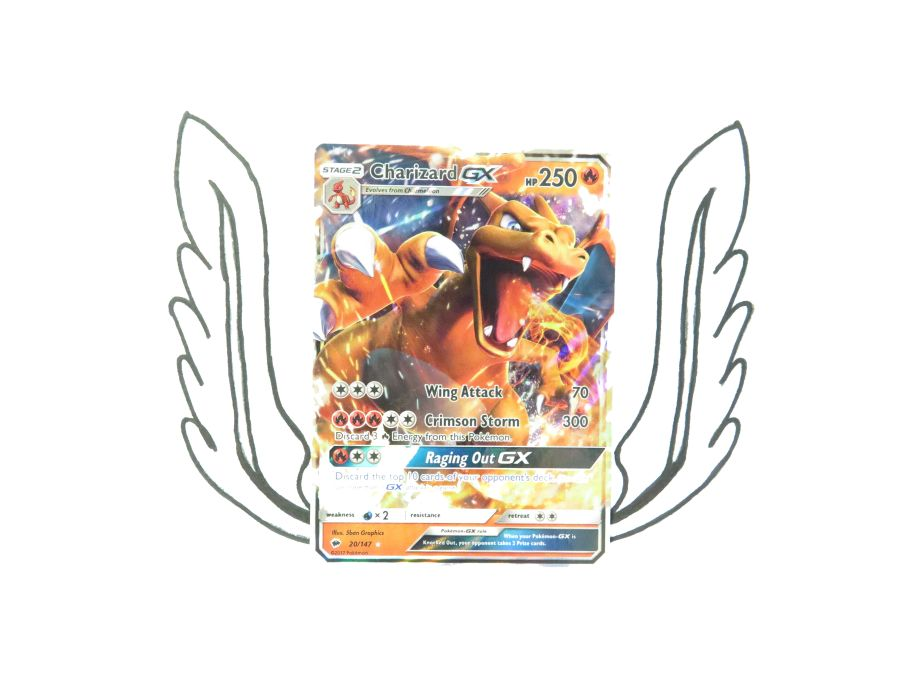 Sun & Moon Burning Shadows Charizard GX - 20/147 - Single Card