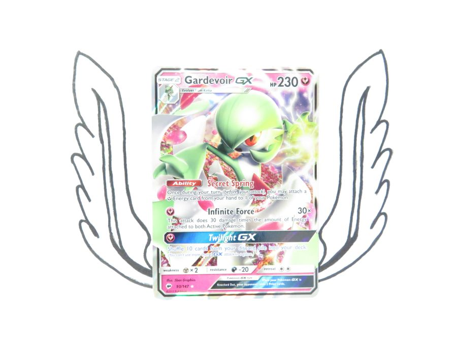 Sun & Moon Burning Shadows Gardevoir GX - 93/147 - Single Card