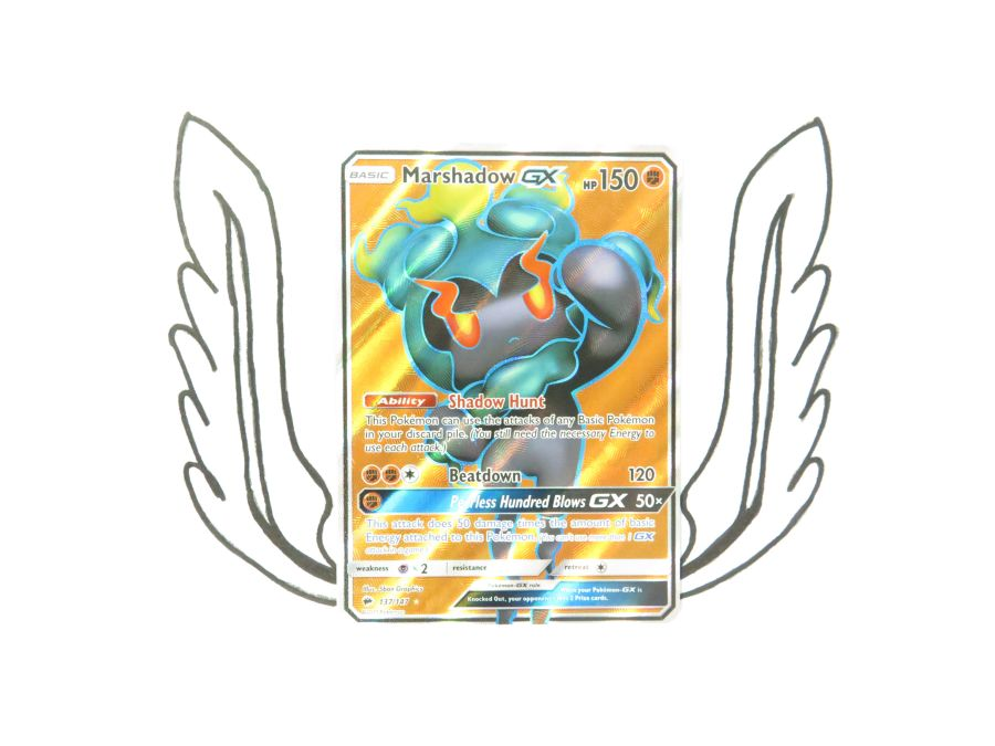 Sun & Moon Burning Shadows Marshadow GX - 137/147 - Single Card
