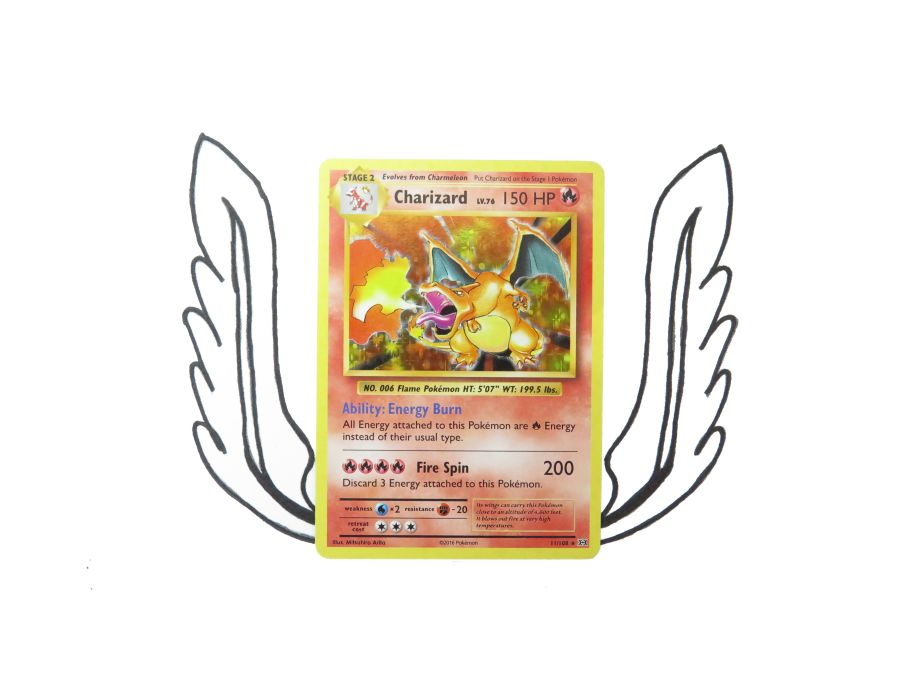 XY Evolutions Charizard Holo - 011/108 - Single Card