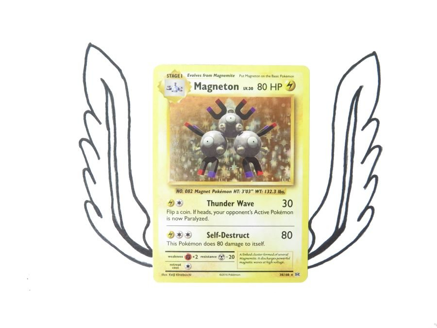 XY Evolutions Magneton Holo - 038/108 - Single Card