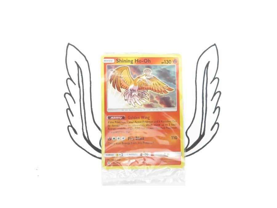 Pokemon - Shining Legends Promo Shining Ho-Oh SM70 - Single Card