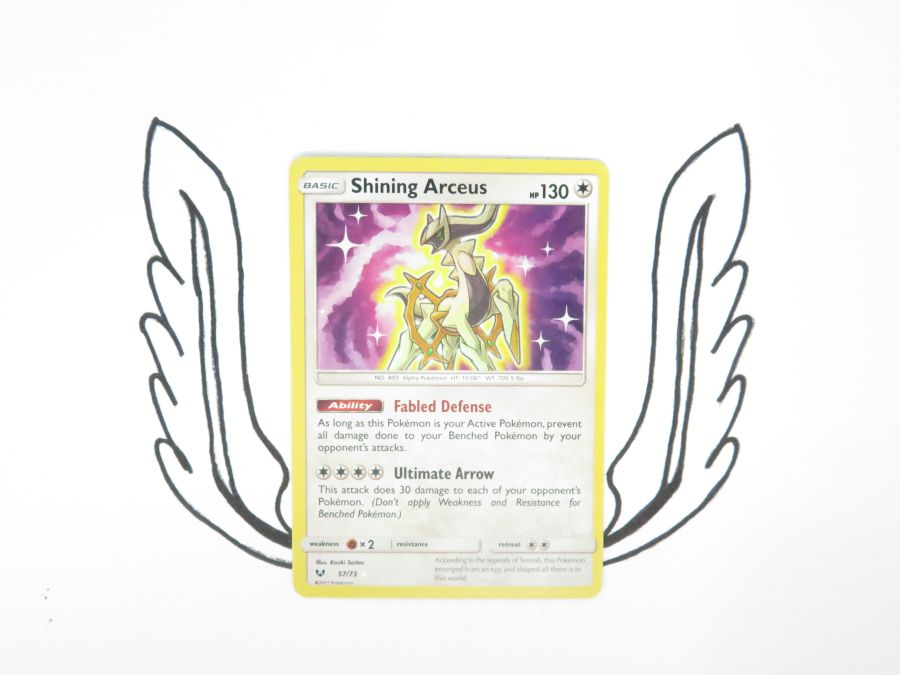 Pokemon - Shining Legends Shining Arceus 057/073 - Single Card