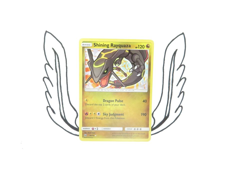 Pokemon - Shining Legends Shining Rayquaza 056/073 - Single Card