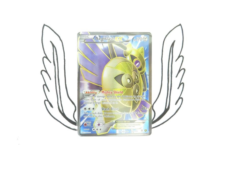 XY Premium Trainers Collection Aegislash EX 65a/119 Pokemon Card! NR Mint!