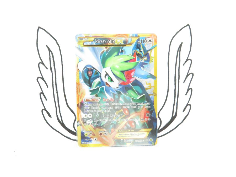 XY Premium Trainers Collection Shaymin EX 77a/108 Pokemon Card! NR Mint!
