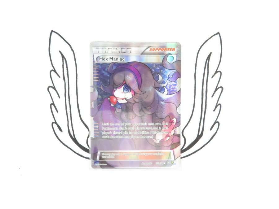 XY Premium Trainers Collection Hex Maniac 75a/98 Pokemon Card! NR Mint!