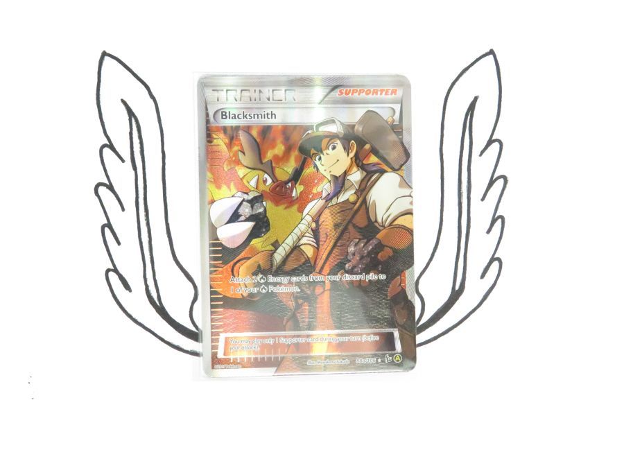 XY Premium Trainers Collection Blacksmith 88a/106 Pokemon Card! NR Mint!