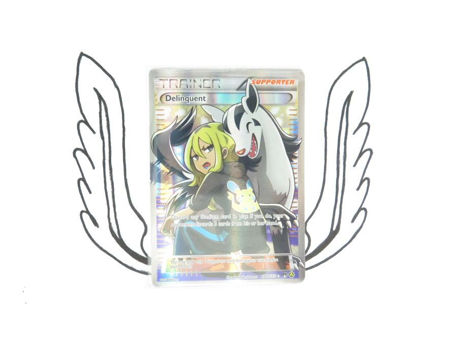 XY Premium Trainers Collection Delinquent 98b/122 Pokemon Card! NR Mint!