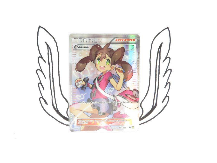 XY Premium Trainers Collection Shauna 111a/124 Pokemon Card! NR Mint!